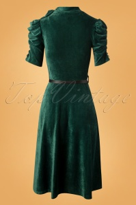 Vixen Penelope Velvet Dress in Green 106 40 25014 20180920 0018W