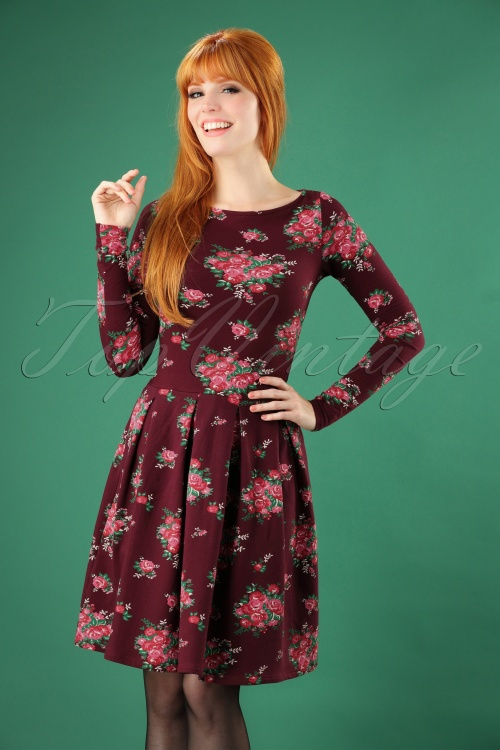 Blutsgeschwister True Romance Floral Dress 106 69 26041 20180828 00002W
