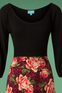 LaLamour Flared Dress Floral 102 29 25222 20180920 0004V