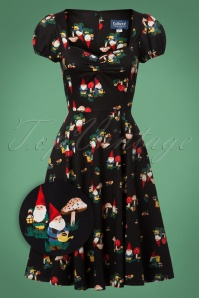 Collectif Clothing Mimi Gnome Doll Dress in Black 24805 20180627 0009Z