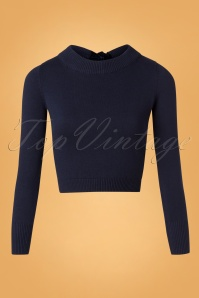 50s Tracy Jumper in Navy
