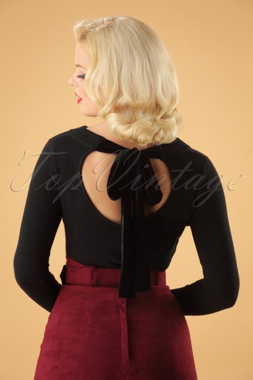 Collectif Clothing Tracy Jumper in Black 113 31 24797 20180921 0011W