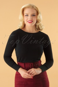 Collectif Clothing Tracy Jumper in Black 113 31 24797 20180921 0010W