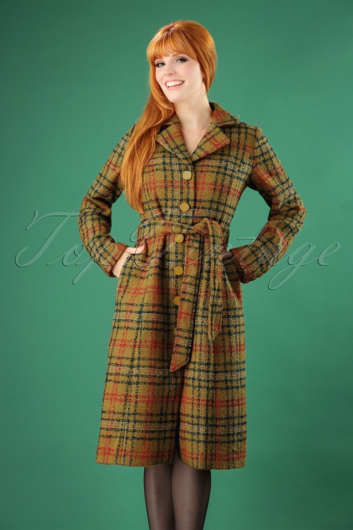 King Louie Alice Coat in Mustard Yellow 152 89 25344 20180830 0002 2W