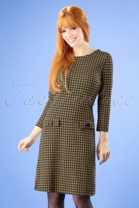Mademoiselle Yeye Houndstooth Dress 107 57 25518 20180817 0002W