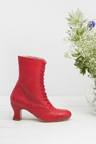 Miss L Fire Frida Red Ankleboots 441 20 25409 07112018 003