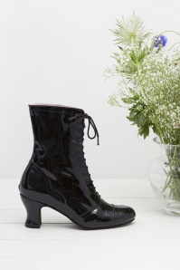 Miss L Fire Frida Black Patent Ankleboots 441 10 25410 07112018 003