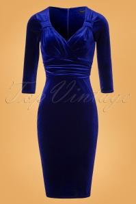 Vintage Chic TopVintage Exclusive Velvet Pencil Dress 100 20 26399 20161010 0003W