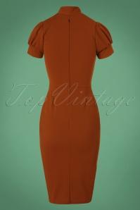 Vintage Chic 50s Bonnie Dress in Wine Red 100 20 19516 20161013 0009W