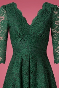 Jolie Moi Green Lace Pencil Dress 27516 20180926 0005V
