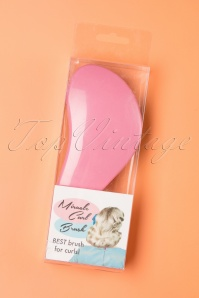 Vintage Hairstyling: Miracle Curl Brush in Pink