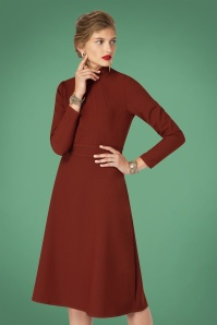 Closet Long Sleeve High Neck Dress 27643 2