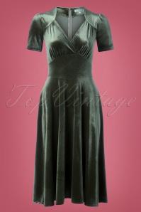 Very Cherry Hollywood Velvet Dress 102 40 25661 20180918 0002W