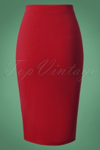 Vintage Chic Pencil Skirt 27594 20180927 0002W