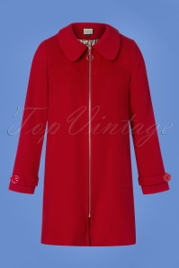 Mademoiselle Yeye Red Coat 152 20 25510 20180817 0001w