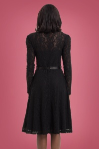 Vixen Dita Dress Black Lace 25009 2