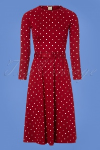 Mademoiselle Yeye Red Polkadot Dress 106 27 25516 20180817 0001w