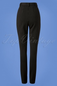 Very Cherry High Waist Pinstripe Pants 131 14 25669 20180918 0014W