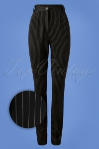 Very Cherry High Waist Pinstripe Pants 131 14 25669 20180918 0004Z
