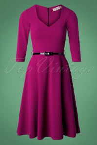 Vintage Chic Purple Dress 102 60 26602 20180926 0004W