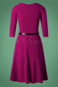 Vintage Chic Purple Dress 102 60 26602 20180926 0002W