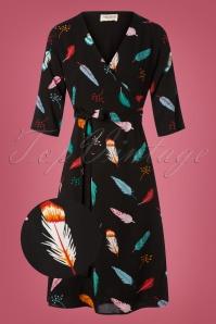 Sugarhill Boutique Aisha Vibrant Feather Dress 102 14 25568 20180817 0006wv
