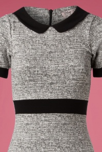 Vintage Chic Grey Pencil Dress 27318 20180927 005V