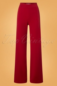 Very Cherry Marlene Pants in Red 131 20 25670 20180815 0001W