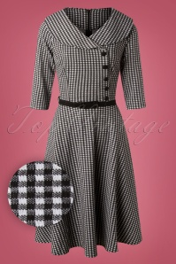 Vixen Aubrey Houndstooth Dress 102 14 25006 20180927 0005W1