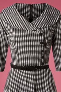 Vixen Aubrey Houndstooth Dress 102 14 25006 20180927 0005V