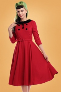Collectif Clothing 50s Christine Swing Dress 102 20 24823 20180928 0011