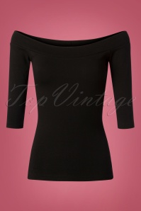 Heart Of Haute Monroe Top in Black 113 10 27732 20180928 0005W