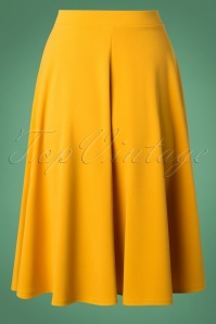 Vintage Chic Yellow Skirt 122 80 23704 20180928 0003W
