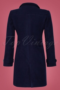 Smashed Lemon Navy Plain Coat 152 31 25612 2W