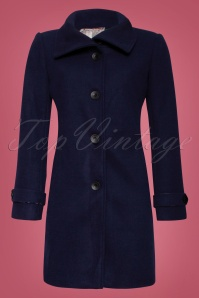 Smashed Lemon Navy Plain Coat 152 31 25612 1W