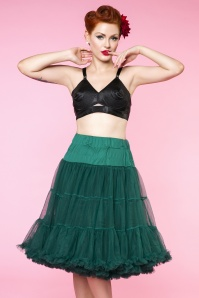 Dolly en Dotty 27510 65cm nylon petticoat green 1