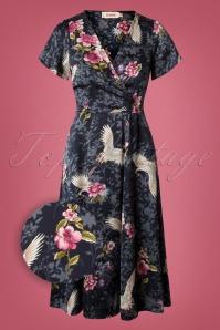 Louche Marilyn Crane Dress 102 39 26614 20180928 0005Z