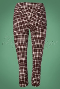 Louche Ken Pop Check Trousers 131 59 25902 20181001 0008W