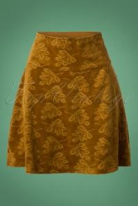 Bakery Ladies Skirt Leaf in Velour 123 70 25447 20181002 0006W
