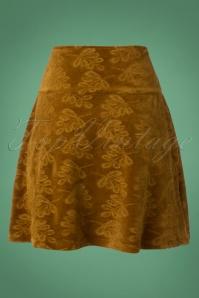 Bakery Ladies Skirt Leaf in Velour 123 70 25447 20181002 0003W