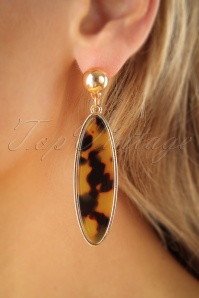 Vixen Retro Leopard Earrings 333 79 25723 07122018 002W