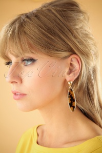 Vixen Retro Leopard Earrings 333 79 25723 07122018 001W