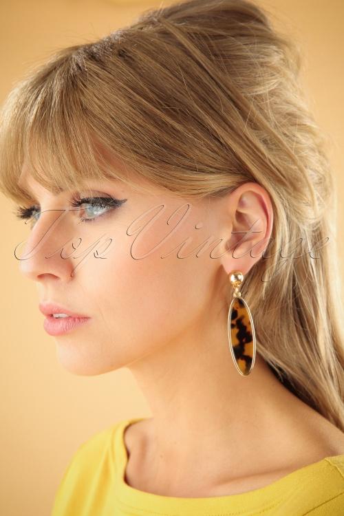 Vixen Retro Leopard Earrings 333 79 25723 07122018 001W