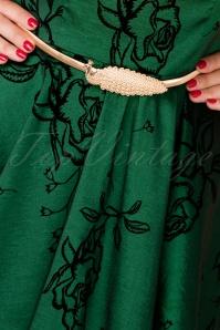 Vixen Vintage golden peacock belt 230 91 25705 07122018 003W