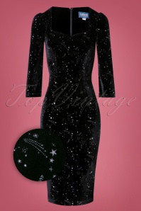 Collectif Clothing Vanessa Make a Wish Pencil Dress 25642 20180628 0004Z