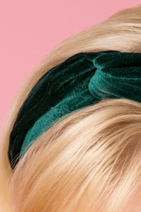 Vixen Green Velvet Hairband 208 40 25686 07122018 006
