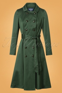 Collectif Clothing Korrina Swing Trenchcoat 151 40 24783 20180704 0005W