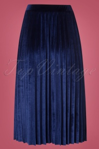 Hearts and Roses Blue Velvet Skirt 123 30 26962 20181001 0004W