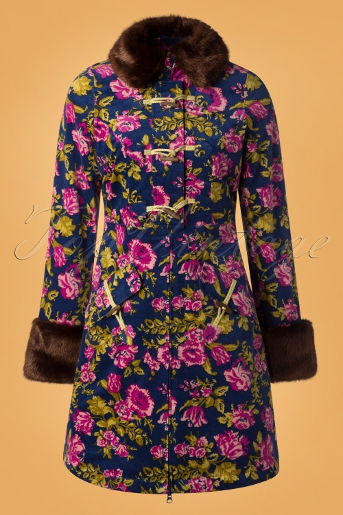 Blutsgeschwister Velvet Garden Floral Coat 152 39 26061 20181003 0002W