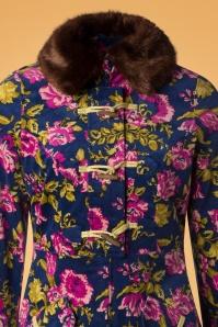 Blutsgeschwister Velvet Garden Floral Coat 152 39 26061 20181003 0002V